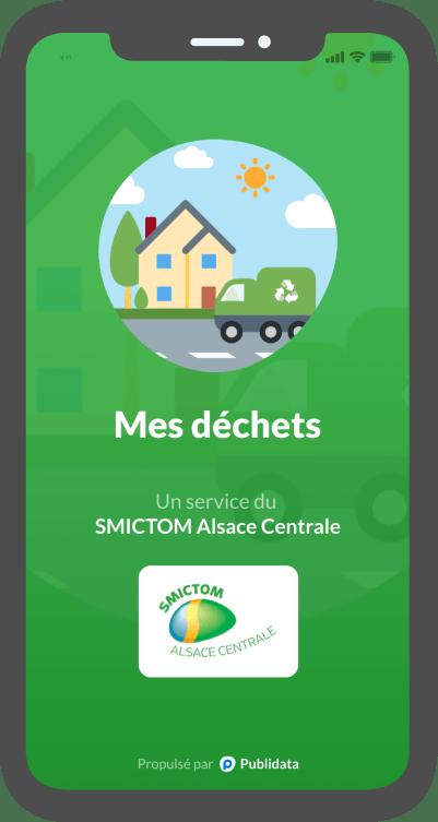 Outil d'information sur les déchets en Alsace Centrale
