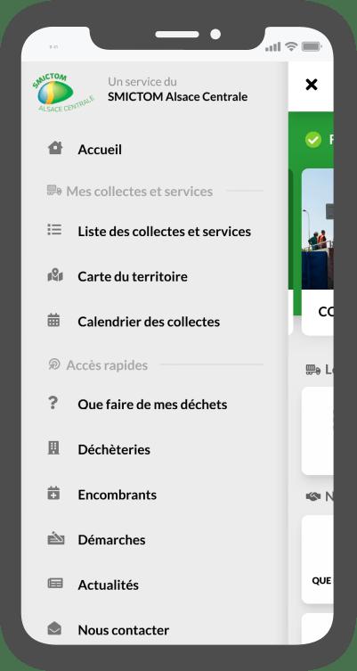 Liste des services du SMICTOM Alsace centrale